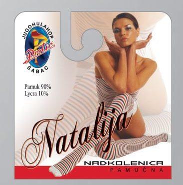 Čarape nadkolenice Natalija
