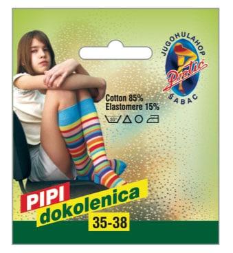 Čarape Pipi dokolenica